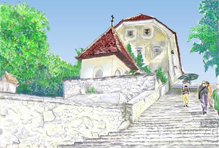 スロベニアの教会